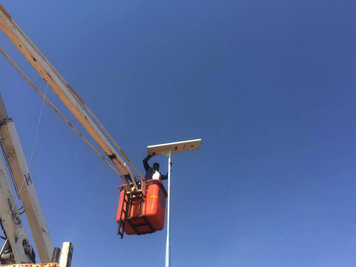 DataDot Botswana Thwart Theft by Microdotting Street Lights