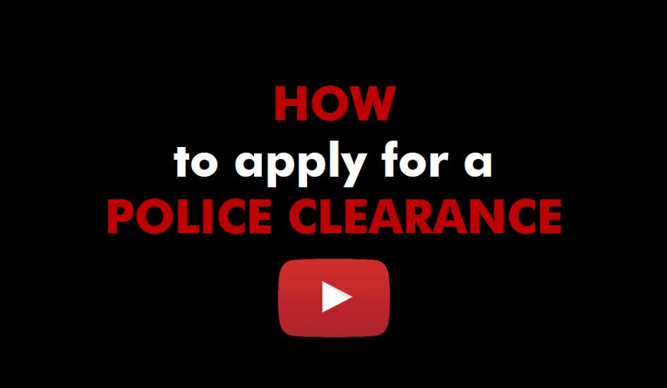 How to apply for a Police Clearance - DataDot Technology SA